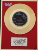 "THE BEATLES - 7"" 24 Carat Gold disc- WE CAN WORK IT OUT"